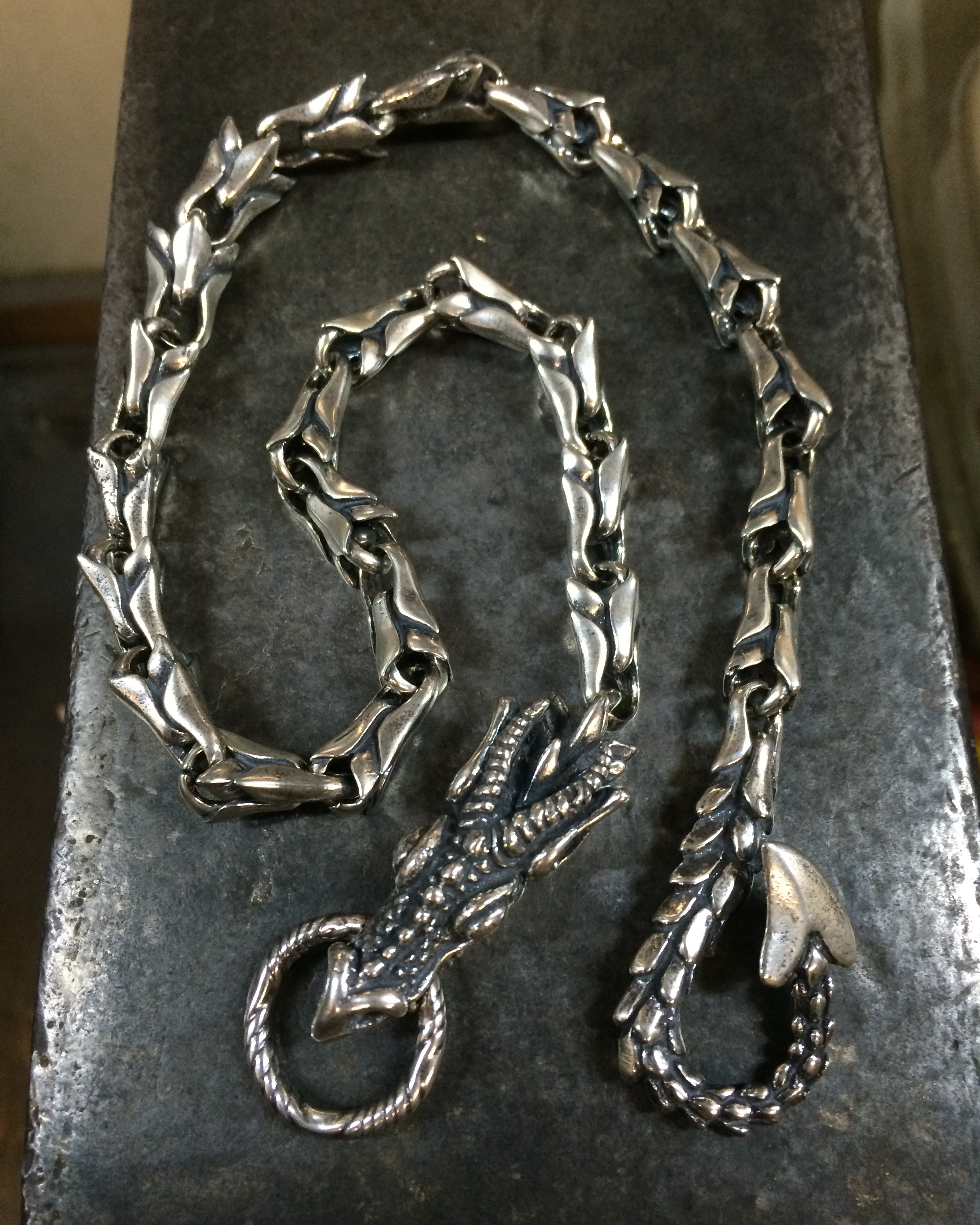 chains wallet dragon chain img product crafty celts
