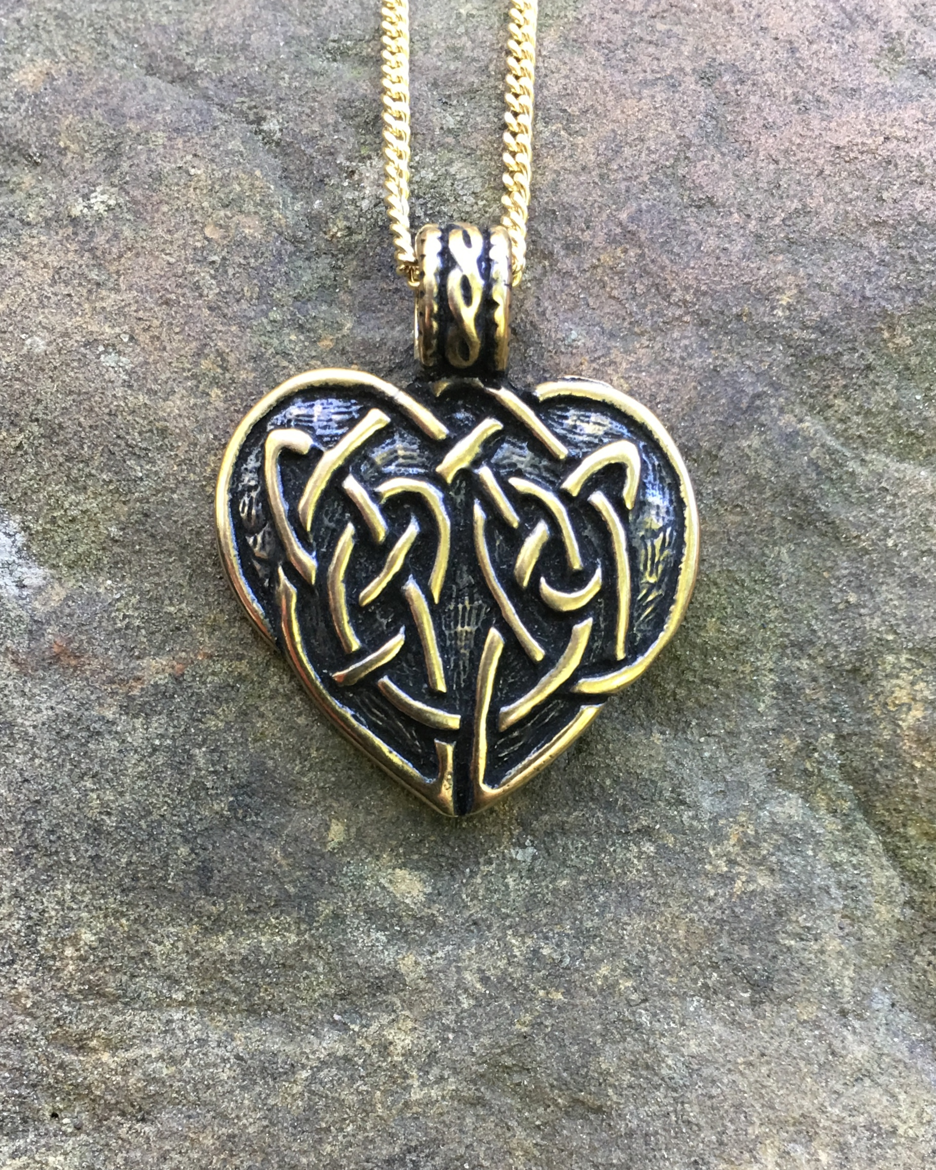 Scottish heart pendant crafty celts scottish heart pendant aloadofball Images