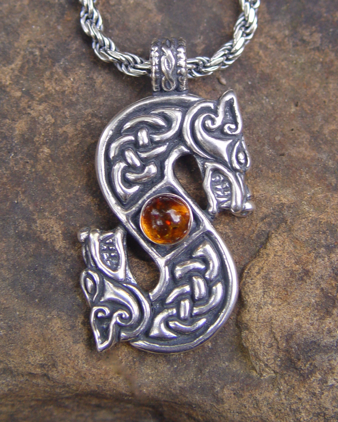 zoom with lead chain pendant il silver listing ca celtic triskele pewter free on fullxfull
