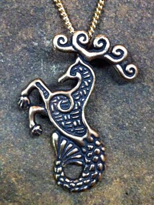Sea stag pendant crafty celts sea stag pendant aloadofball Choice Image
