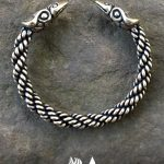 Medium Braid Raven Bracelet Image