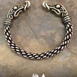 Viking Dragon Bracelet - Medium Braid Image